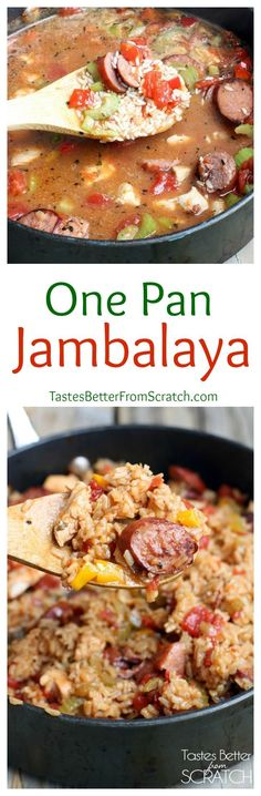 One Pan Chicken and