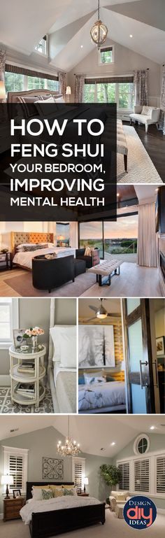 Do you LOVE your room?  Learn how to get your feng shui in your bedroom to improve your mental health and relax in your room.