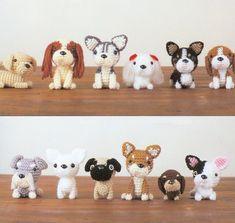 crochet amigurumi toy dog | Japanese 'Amigurumi' Dogs | Cute Crochet Dogs | Puppy Tales