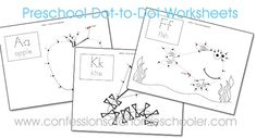 Hi everyone, I hope you're having a wonderful day! Today I have some fun Preschool Dot-to-dot worksheets to share with you all! They of course go with my Letter of the Week preschool curriculum, and if you've purchased the curriculum anytime AFTER 7/20/14 this file is included in your download! If you purchased prior to…Read More