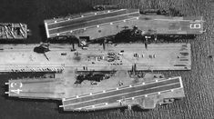 USS Hancock CVA CV-19 Essex class Aircraft Carrier US Navy Uss Hancock, Essex Class, Subic Bay, Go Navy, Leyte, Rear Admiral, North Vietnam, Flight Deck, Pearl Harbor