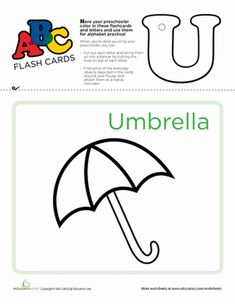 Use these flashcards to practice the ABC's, cut out and punch a hole at the top of each letter, and string them up to serve as a vibrant teaching tool. Writing Worksheets, Preschool Worksheets, Printable Worksheets, Learning Resources, Teaching Tools, Kids Learning, Alphabet Charts, School Information, Learning The Alphabet