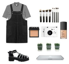 """""""Untitled #256"""" by maiamusic9 ❤ liked on Polyvore featuring Monki, ASOS, Lomography and NARS Cosmetics"""