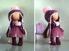 Muñeca hecha a mano muñeca de invierno ruso por AnnKirillartPlace