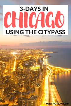 Weekend Chicago Itinerary | First-time Visitor's Guide | Bucket list Chicago | Budget Chicago | Things To Do In Chicago | Chicago CityPASS