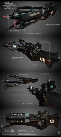 Crossbow, Adam Laczny on ArtStation at http://www.artstation.com/artwork/crossbow-f29ca740-e8a1-473b-ae6c-247f18fe342a