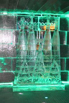 La Sagrada Familia de hielo. La escultura que más veces se hizo en Icebarcelona