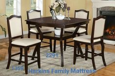 #harkinsfamilymattress #tables #chairs #diningset #bench #stools #barstools #counterstool #kitchen #decor #diningroom #interior #home #house #familyroom #furniture #china #eat #dinnertime #cooking #familytime #seating #interiorfurniture #frunishings #armchair