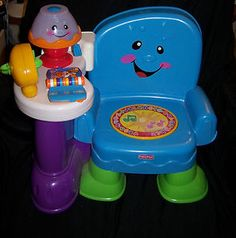 Fisher Price Laugh Learn chair.
