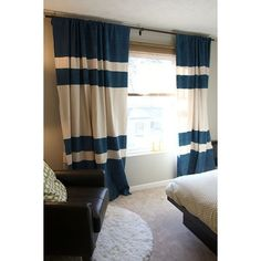 diy painted drop cloth curtains from house tweaking scroll down to comments for further details curtain tutorial www