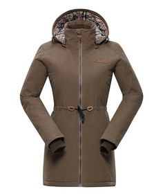Look what I found on #zulily! Pine Bark Hooded Edite 2 Coat #zulilyfinds