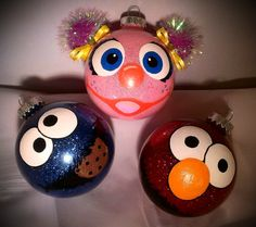 Sesame ornaments