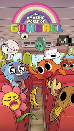 The Amazing World of Gumball (also known simply as just Gumball) is a British-American animated television series created by Ben Bocquelet for Cartoon Network. Cartoon Network Characters, Cartoon Network Shows, Cartoon Shows, Cartoon Art, Cartoon Memes, Cartoon Drawings, Disney Characters, Cartoon Wallpaper, Cadena Cartoon