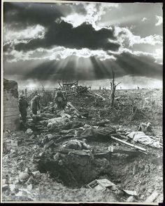 Frank Hurley's striking photo of Australian soldiers the morning after the Battle of Passchendaele, 1917 imgur: the simple image sharer