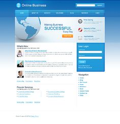 Online business #Drupal #template. #themes #business #responsive