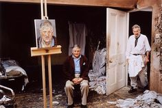 David Hockney and Lucien Freud: The Two Masters