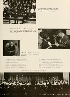 Athena yearbook, 1960. United Nations Undersecretary Ralph Bunche visited. :: Ohio University Archives