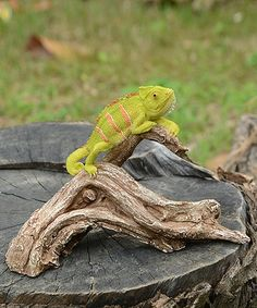 Love this Chameleon & Tree Branch Figurine on #zulily! #zulilyfinds