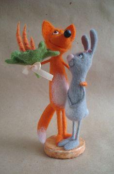 ЖуЖЖащие ЖуЖЖалки Felt Fox, Wool Felt, Needle Felted Animals, Felt Animals, Hedgehog Craft, 3d Figures, Needle Felting Tutorials, Plush Pattern, Cute Toys