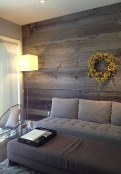 Barnboardstore.com Seeing the barnboard feature wall turning up in  current design.  a very cool eco related product