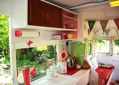Vintage caravan - high on our wish list