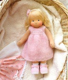 Waldorf handmade toy. Fair Masters - handmade Lisa, 30 cm Handmade.