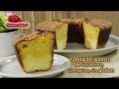 TORTA DE ARROZ de Licuadora, sin harina, sin gluten, fácil y deliciosa - YouTube No Dairy Recipes, Cake Recipes, Vegan Recipes, Cooking Recipes, Food Cakes, Cupcake Cakes, Venezuelan Food, Sweet Cooking, Muffin