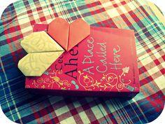 DIY Pretty - Heart Bookmarks