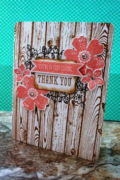 Hardwood Stamp Card
