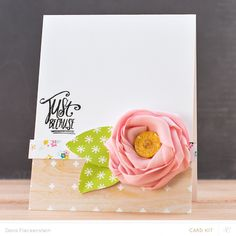 Studio Calico Office Hours Kit Just Because card by @pixnglue