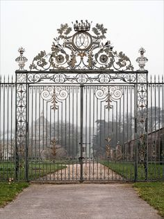 Gate to the entrance of Castle Howard, a stately home in North Yorkshire, England.  One of the grandest private residences in Britain, most of it was built between 1699 and 1712 for the 3rd Earl of Carlisle.