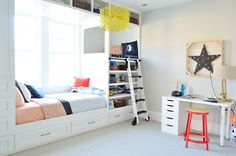 boy's room via @Sherry S S S @ Young House Love