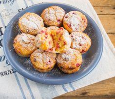 Mahlased kohupiimamuffinid marjade või õuntega