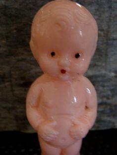 Vintage Celluloid  Doll by reginasstudio on Etsy https://www.etsy.com/listing/118041662/vintage-celluloid-doll