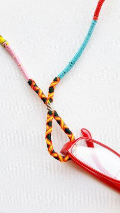 Eyeglass Chain Eyeglass Holder Eyeglass Lanyard by WrapSodic b120f233728