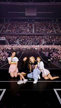 ann on - Black Pink Kpop, Black Girls, Black Women, Blackpink Concert, Dream Concert, Kpop Girl Groups, Kpop Girls, K Pop, Blackpink Memes