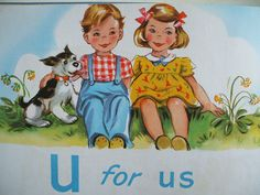 """""""U"""" is for 'Us' ~ The ABC's of Love!"""