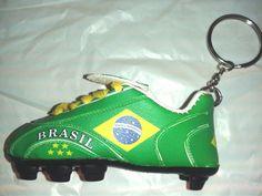 Team BRAZIL BRASIL - Football / Soccer Mini  Boot Keychain Key Ring | eBay
