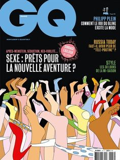 Jean Dujardin, Vincent Cassel, Jeff Bridges, Kevin Spacey, Robert Downey Jr, Magazine Gq, Magazine Covers, Paper People, Lineup