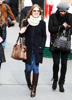 Winter Outfit Idea: Send a Texture Message