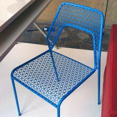 From Designersblock - Hot Mesh Chair by Blu Dot.