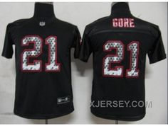 http://www.xjersey.com/youth-nfl-san-francisco-49ers-21-gore-blackgoreunited-sideline-discount.html YOUTH NFL SAN FRANCISCO 49ERS #21 GORE BLACK[GORE][UNITED SIDELINE] DISCOUNT Only $34.00 , Free Shipping!