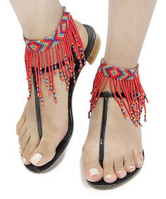 Look what I found on MOA International Corp Coral & Purple Fringe Anklet Set by MOA International Corp Seed Bead Jewelry, Cute Jewelry, Body Jewelry, Beaded Jewelry, Cute Anklets, Beaded Anklets, Beaded Earrings, Coin Pendant Necklace, Shell Pendant