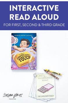 Want to read one favorite chapter books to your class and have tons of higher order thinking questions ready to go for you?! I did all the hard work for you! These questions and activities for The Chocolate Touch by Patrick Skene Catling are perfect for students in grades 1-3! Download the preview to check it out!