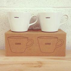 "matching ""caffee"" mugs, for looks."