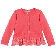 Cardigan Grain de Blé by Zgeneration #pink #little #details #zgeneration #italy #bambina #primavera #estate  www.zgenerattion.com