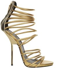 gold t-strap heels paciotti | Shop - Designer High Heels from Online Shoe Stores - Shoerazzi 2012