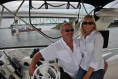 Debbie Piper and Todd Stopher aren't just setting off on any lake cruise. They are making history! Read their story.