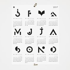 Our 2017 poster calendar on sale! Only two available, black and white and green with blue details on. Use the code: during checkout. You will get it for 7 euros plus shipping. Printed on… Calendar 2017, Print Calendar, Black And White Posters, First Page, Typography Poster, Poster Prints, Art Print, Letters, How To Get