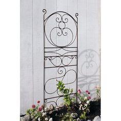 Metal Garden Trellis, Obelisk Trellis, Arbors Trellis, Climbing Clematis, Climbing Flowers, Vinyl Lattice Panels, Decorative Panels, Rose Bush, Garden Borders